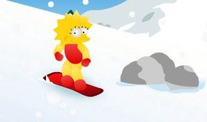 Lisa Simpson Snowboard