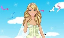 Glam Barbie Bride