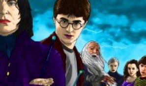 Original game title: Harry Potter Colouring