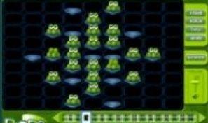 Original game title: Blobs Peg Solitaire