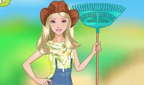 Original game title: Barbie Farm Girl