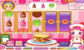Original game title: Sue's Sandwich Shop