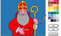 St. Nicholas Coloring