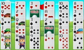 Original game title: Golf Solitaire Pro