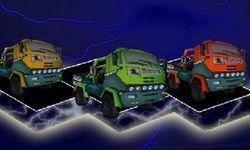 Οδήγηση Φορτηγού πάνω στο Χιόνι