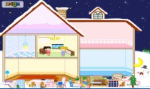 Original game title: Winter House Decoration