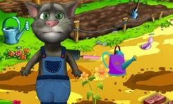 Talking Tom si Tukang Kebun