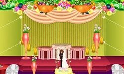 Dekorasi Aula Pernikahan