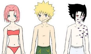 Original game title: Naruto Kid Dress Up