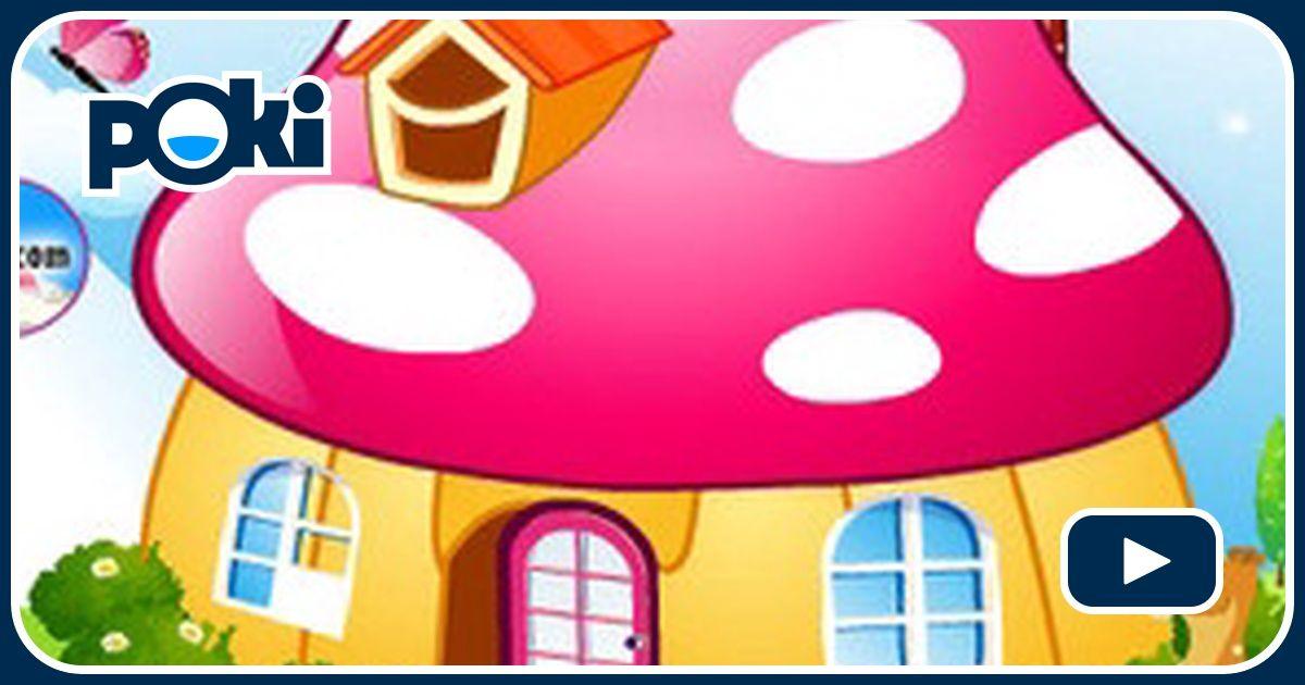 D coration maison champignon for Jeu decoration maison
