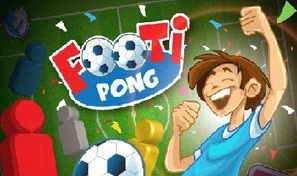 Original game title: Footi-Pong