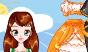 Original game title: Katia Gown Dress Up