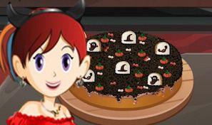Original game title: Sara's Cooking Class: Graveyard Cake