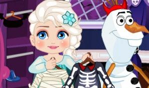 Elsa Halloween Slacking