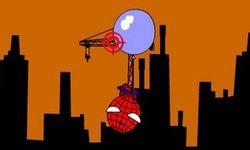 Spiderman Ballonnen Schieten