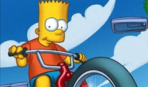 Original game title: Simpsons Bike Rally