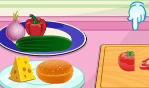 Original game title: Make a Veggie Burger