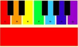 Piano de Arcoiris