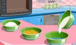 Lemon Cake Cooking