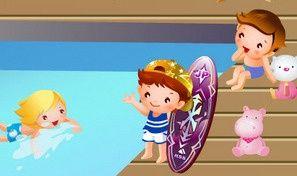Children Pool Decoration