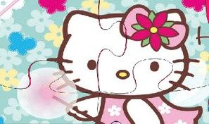 Hello Kitty Baby Puzzle