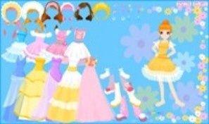 Original game title: Flowerpark Dress Up