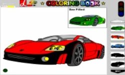 Coloring Cars
