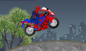 Original game title: Spider-man Motobike