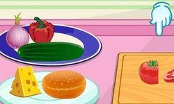 Fazendo um Hambúrguer Vegetariano