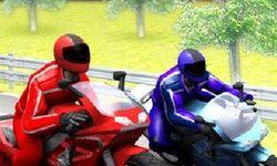 Corrida de Moto 3D