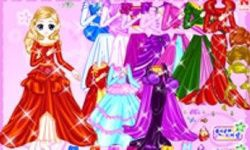 Shiney Princess Dress Up