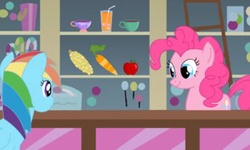Pinkie Pie at the Shop