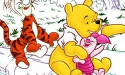 Pooh Color Math