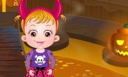 El Castillo de Halloween de la Bebé Hazel