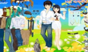 Original game title: Spring Couple Dress Up