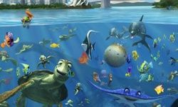 Finding Dory Hidden Underwater
