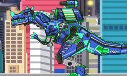 Dino Robô Ceratossauro