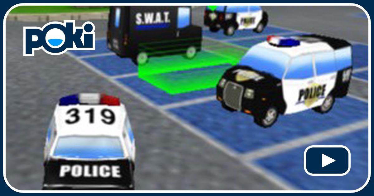Police Cars Parking Game Car Games Gamesfreak