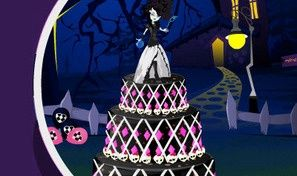Original game title: Monster High Cake Decor