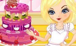 Trojposchodová Narodeninová Torta