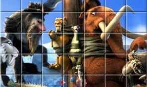 Original game title: Ice Age: Continental Drift Spin Puzzle