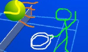 Original game title: Stickman Tennis