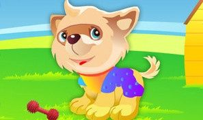Original game title: Cute Puppy Dressup
