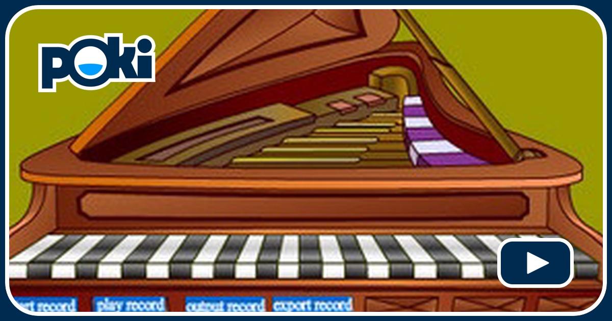 Tocar el piano 2 online juega gratis en paisdelosjuegos for Strumento online gratuito piano piano