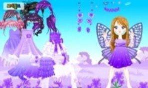 Purple Dress Up
