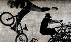 Straßen BMX Tricks