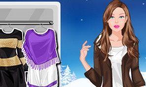 Winter Barbie Dressup