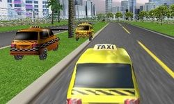 3D Taxi Racen