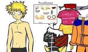 Original game title: Naruto Dress Up