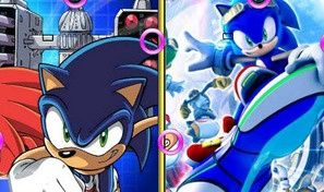 Original game title: Sonic Similarities